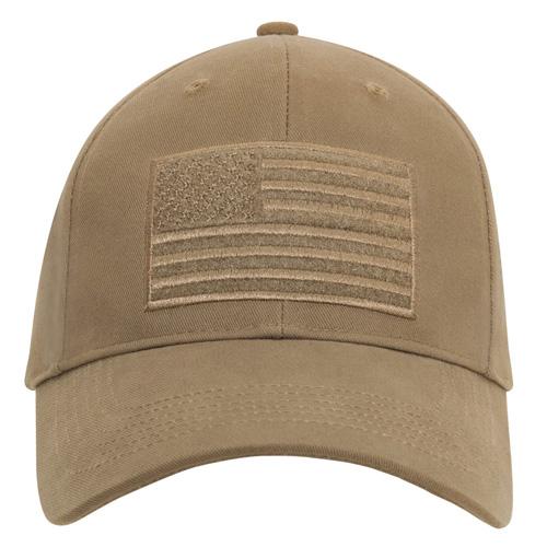 Ultra Force Hook & Loop U.S. Flag Low Profile Cap