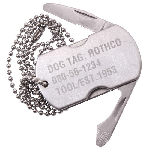 Dog Tag Multi-Tool
