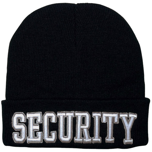 Deluxe Embroidered Security Watch Cap