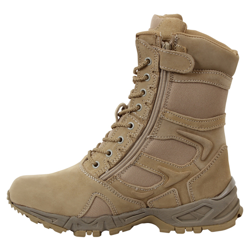 Forced Entry 8 Inch Deployment Boot with Side Zipper