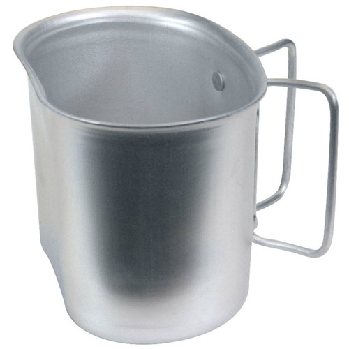 Gi Style Aluminum Canteen Cup