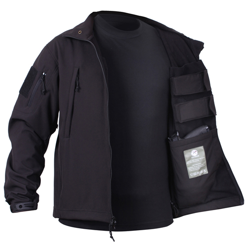 Mens Concealed Carry Soft Shell Jacket
