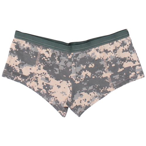 Womens ACU Digital Camo Booty Shorts