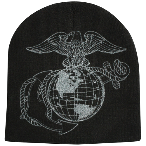 Globe And Anchor Skull Cap