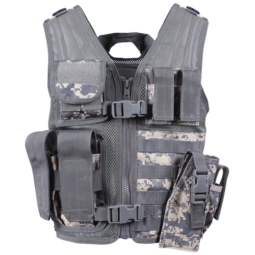 Kids Tactical Cross Draw Vest
