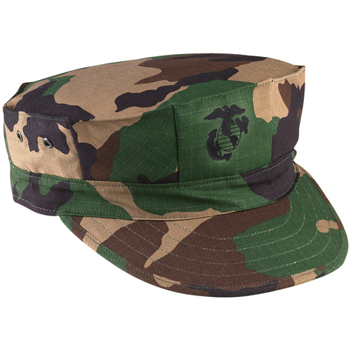 Marine Corps Cotton Rip-Stop With Emblem Cap