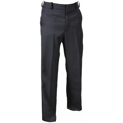 Mens Navy Blue Polyester Uniform Pants