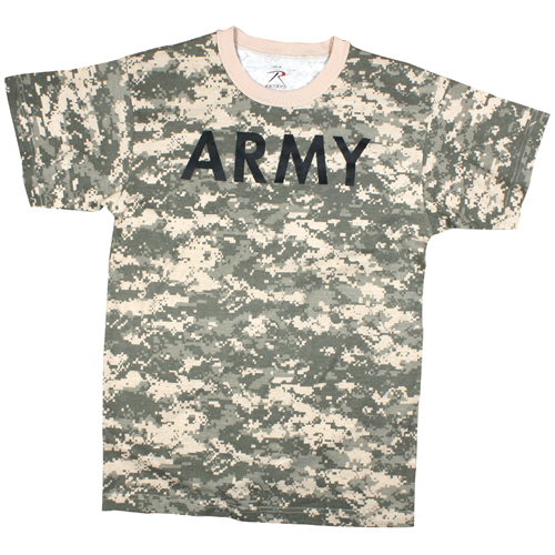 Mens ACU Digital Army T-Shirt