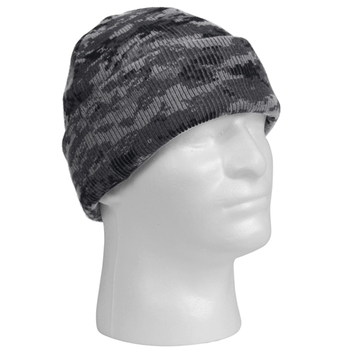 Deluxe Camo Watch Cap