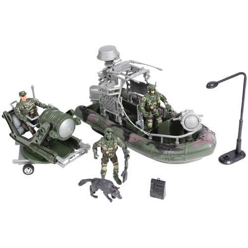 Military Force Amphibious Play Set