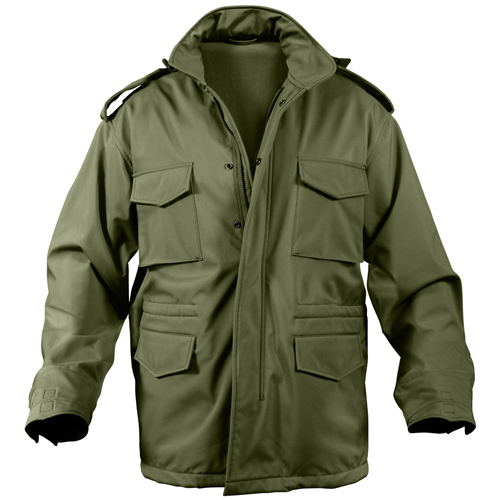Mens Soft Shell Tactical M-65 Jacket
