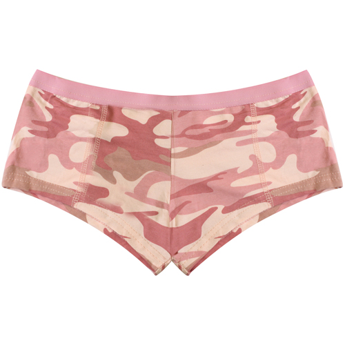 Womens Blank Pink Booty Shorts