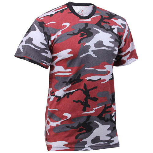 Mens Colored Camo T-Shirts