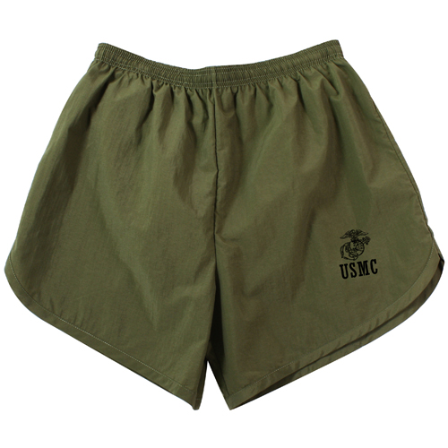 Mens Physical Training USMC Shorts