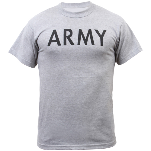 Mens Army Physical Training T-Shirt