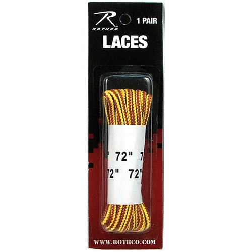 72 Inch Tan Nylon Work Boot Laces