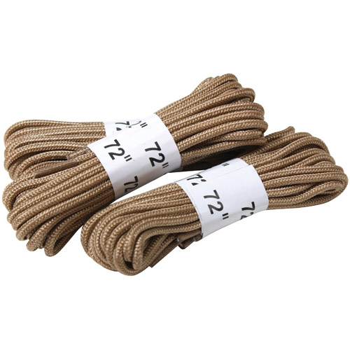 72 Inch 3 Pack Boot Laces
