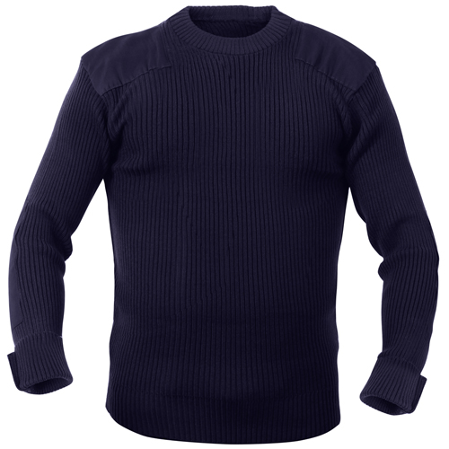 Mens GI Style Acrylic Commando Sweater
