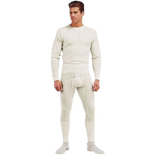 Mens Thermal Knit Underwear Top