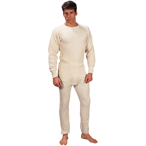 Mens Extra Heavyweight Thermal Knit Bottoms