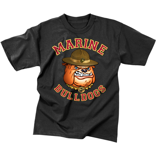 Mens Marine Bulldog T-Shirt