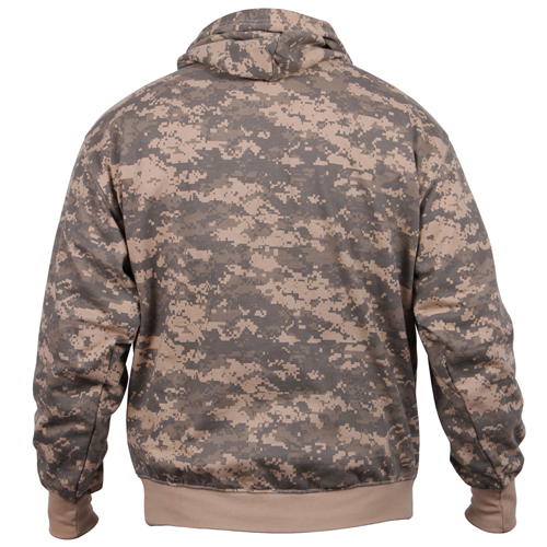 Camo Pullover Hooded Sweatshirt