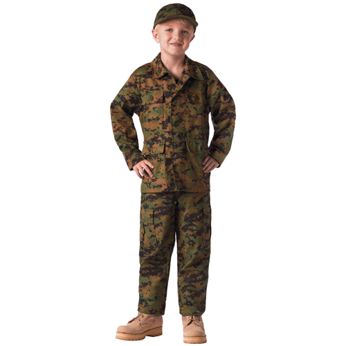 Kids Digital Camo BDU Pants