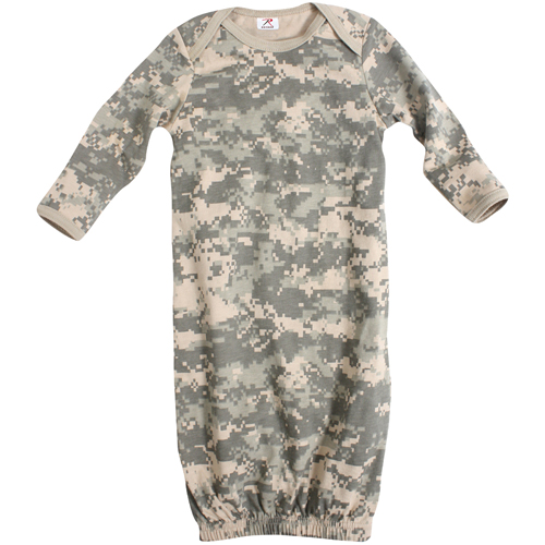 Infant Long Sleeve Camo One-Piece Sleeper