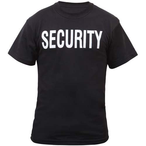 Mens 2-Sided Security T-Shirt