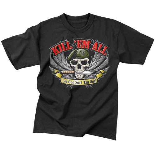 Mens Kill Em All T-Shirt