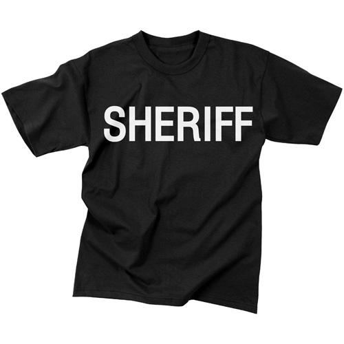 Mens 2-Sided Sheriff T-Shirt