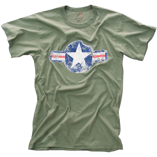 Mens Vintage Army Air Corps T-Shirt