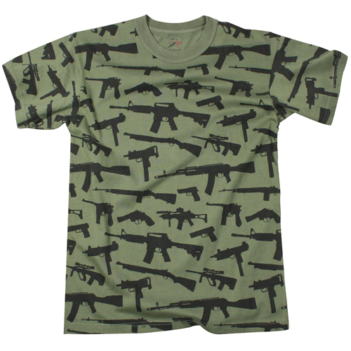 Mens Vintage Guns T-Shirt
