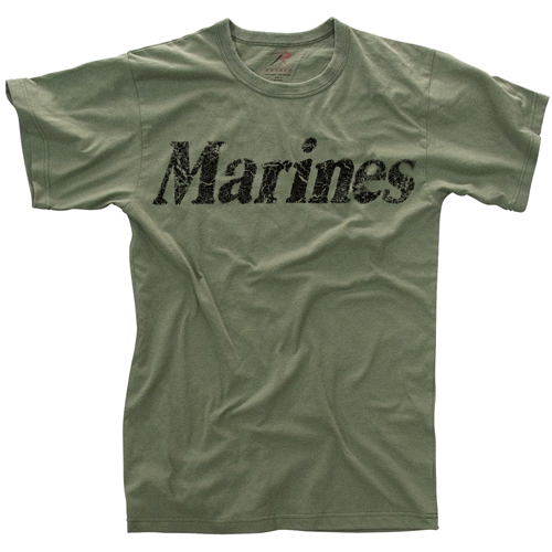 Mens Vintage Marines T-Shirt