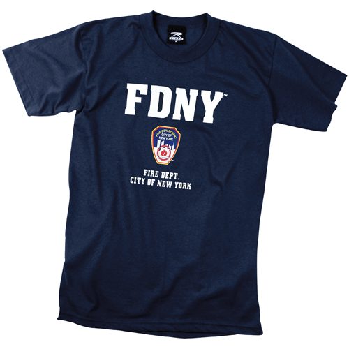 Mens Officially Licensed FDNY T-Shirt
