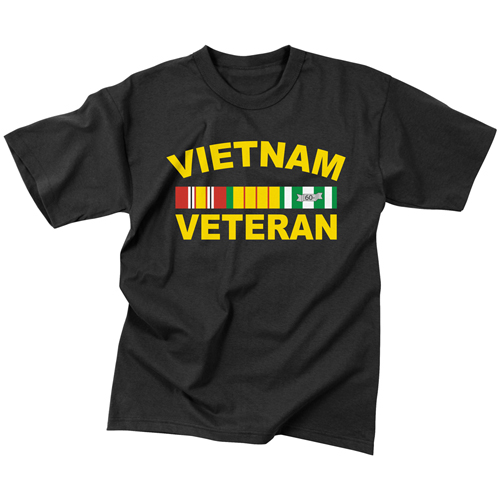 Mens Vietnam Veteran T-Shirt
