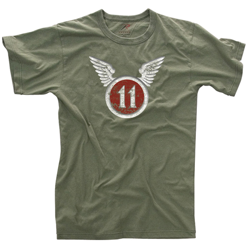 Mens Vintage 11Th Airborne T-Shirt
