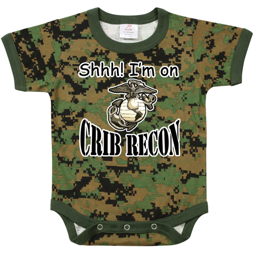 Infant Crib Recon Infant One-Piece