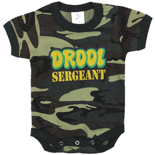 Infant Drool Sergeant One-Piece