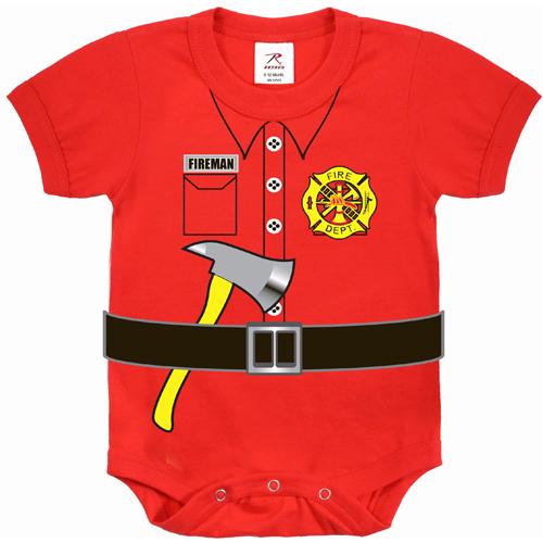 Infant Fireman One-Piece