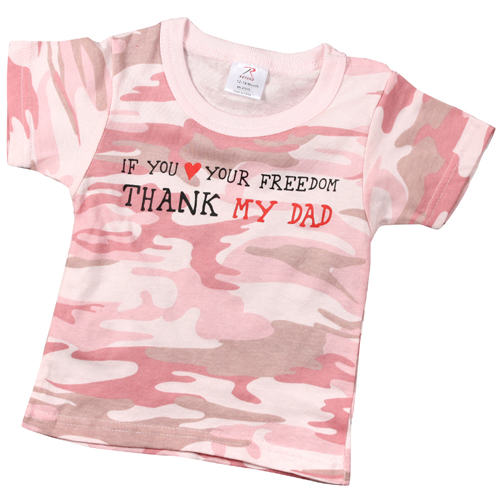 Infant Thank My Dad T-Shirt