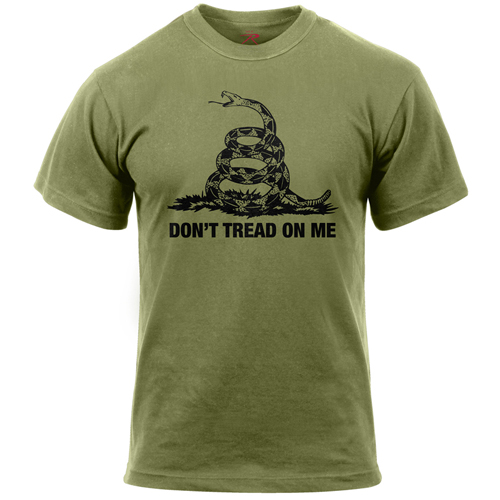 Mens Dont Tread On Me Vintage T-Shirt