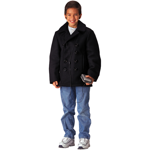 Kids U.S. Navy Type Wool Peacoat