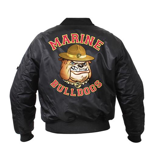 Mens Marine Bulldog MA-1 Flight Jacket