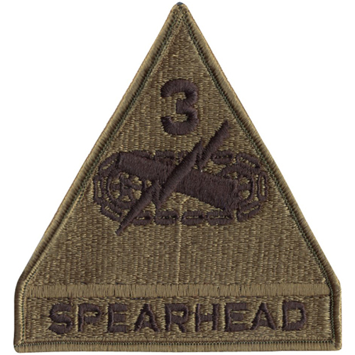 Spearhead 3Rd Armored Patch