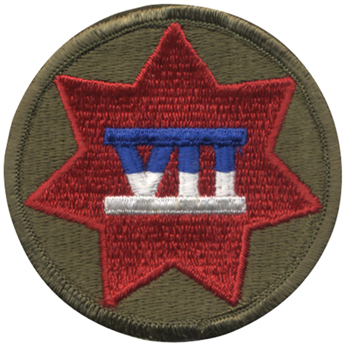 7Th Corps Patch