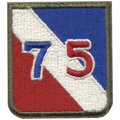 75Th Infantry Division (1946) Patch