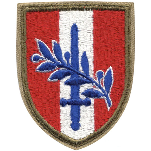 Austrian Occupation Force Patch