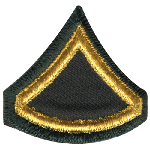 Army Private First Class Patch