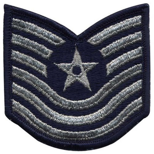 Patch - USAF Master Sergeant 1986-1992